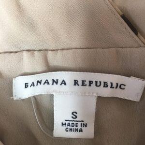 Banana Republic Tops - Banana Republic 100% Silk Cheetah Print Bodice